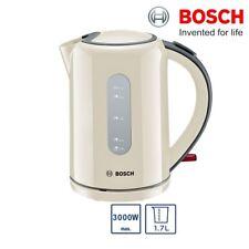 Bosch TWK76075GB Kettle Cordless 1.7L 3000W Automatic Switch Off Cream