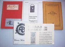 Lot Katalog Reklame Prospekt Fachheft Fotoapparate Kameras Photo Revue 1938 !