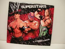 WWE superstars 2008 (16 month) calendar NEW ( MINT never used) FREE SHIP/GIFT