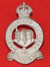 British Army. Northumberland Hussars Yeomanry Genuine Officer's Cap Badge