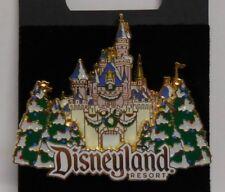 Disney Pin DLR Dormant Château Hiver Décorations Broche Neuf
