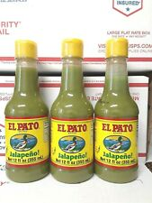 El Pato Jalapeno Green Hot Sauce (**FREE PRIORITY MAIL SHIPPING *** 3-pack )