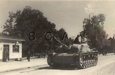 Small German Style Panzer Photo- WWII Tank- Stug- Sturmgeschütz IV- Road March