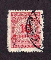 Germany stamp #301, used, SCV $45.00