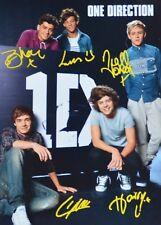ONE DIRECTION - Autogrammkarte - Autograph Autogramm Clippings Fan Sammlung NEU