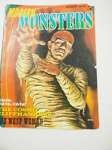 Modern Monsters Magazine Cover August 1966