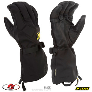NEW KLIM Togwotee Glove - Black - size MD Medium Snowmobile Motorcycle Gore-tex