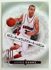 2014-15 UD SP Authentic STEPHEN CURRY Base Card GOLDEN STATE WARRIORS #45 (c)