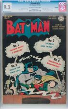 BATMAN #19 CGC 9.2 OFF WHITE TO WHITE PAGES ROCKFORD PEDIGREE  CGC #0996824001