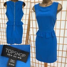 Topshop Patternless Dresses for Women with Peplum