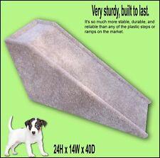 """Dog Ramp, Built to last, 24"""" tall x 14"""" wide x 40"""" Deep,  Sturdy Ramp"""
