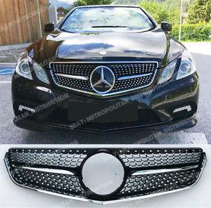 Diamond AMG BLACK Serie Grille 2009-13 Mercedes E coupe cabriolet c207 a207 w207