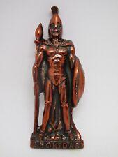 LEONIDAS Greek Spartan King Warrior Statue Figure Bronze 3D Fridge Magnet