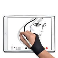 TFY Drawing Anti-Fouling Glove with Two Fingers for Graphics Tablet Painting 1PC