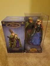 Disney Fairytale Designer Anna & Kristoff FROZEN Heroes Vs Villains Doll Limited