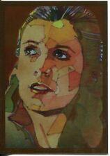 Star Wars Galaxy 7 Bronze Foil Chase Card #8 Princess Leia