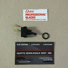 Oster  1-Speed Switch & Nut  Replacement Part Fits A 5 , Classic 76 Dog Clipper
