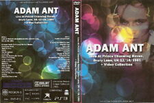 adam ant live prince charming revue uk 1981 & videos 2 dvd set adam and the ants