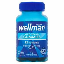 Vitabiotics Wellman Multi-Vitamin Gummies 60