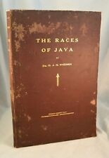 The Races Of Java 1929 Island of Indonesia Javanese