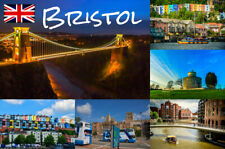Bristol England UK Souvenir Fridge Magnet