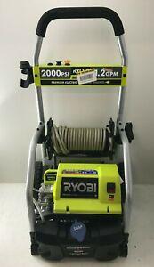 RYOBI RY141900 2000 PSI 1.2 GPM Electric Pressure Washer, GR M