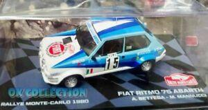 1:43 - FIAT RITMO 75 ABARTH - Rally Montecarlo 1980 - A. Bettega - M. Mannucci