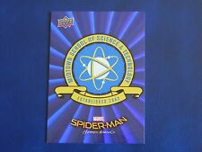 2017 UD Spider-Man Homecoming BLUE FOIL RB-17 Midtown School WALMART EXCLUSIVES