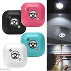Mini LED Wireless Night Light Motion Sensor Lights Wall Emergency Night Lamp New