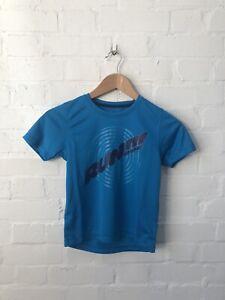 Asics Kid's Graphic Short Sleeve T-Shirt - Blue - New