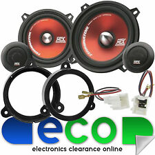 Renault Megane MK3 MTX 400 Watts Component  Front Door Car Speakers Upgrade Kit