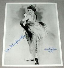 Original Ice Follies Star Skater Andra McLaughlin Signed Photo