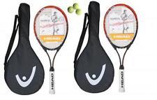 2 x HEAD Ti.RADICAL 27 TITANIO Racchette da tennis + 3 Palline da Tennis L4 RRP £ 89.99