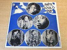 EX/EX!!! Winston Edwards/Natty Locks Dub/2013 Studio 16 réédition LP