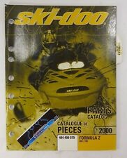 Ski-Doo 2000 Formula Z 600 700 OEM Factory Parts Book Catalog Manual 484 400 079