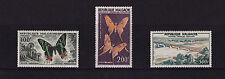 Malagasy - 1960 Butterflies & Bridge (Top Values) - U/M - SG 20-2