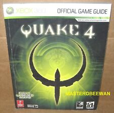 Quake 4 Official Strategy Guide Book New Xbox 360