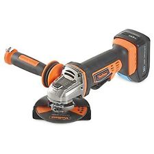 VonHaus 3500006 Cordless Angle Grinder With 3.0Ah Li-ion 20V Max Battery Charger