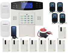 K48 Quad-Bands GSM Wireless Smart Home Alarm Burglar Security System SMS Dial
