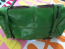 MATT & NAT Handbag Montreal Green Vegan Backpack Straps Zippers Unique Large