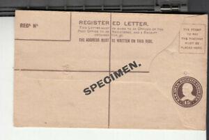 Sarawak. Registered Letter . Specimen