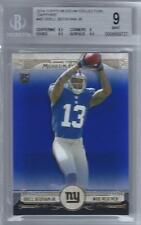 2014 Odell Beckham Topps Museum Collection Sapphire RC- BGS 9 w/9.5 subs- #63/99