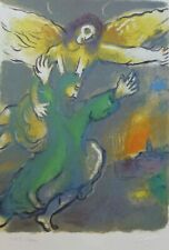 MARC CHAGALL EXODUS BLESSING OF MOSES SIGNED HAND NUMBERED 1729/1800 LITHOGRAPH