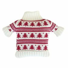 Warmies Red & White Christmas Jumper Winter Warmer Microwavable Festive Cosy