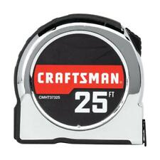 CRAFTSMAN CHROME 25-ft Tape Measure New/SDS