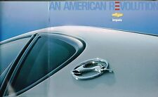 2005 Chevrolet IMPALA Brochure / Catalog with Color Chart: LS,SS