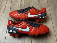 Nike Total 90 STRIKE III 3 FG RED T90 SOCCER CLEATS FOOTBALL BOOTS US 11 UK 10