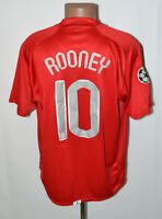 MANCHESTER UNITED CHAMPIONS LEAGUE FINAL 2008 HOME FOOTBALL SHIRT NIKE 10 ROONEY