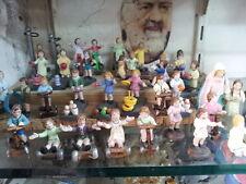 10 bimbi x pastori fini TERRACOTTA 10 cm pastori nativity scene shepherds crib