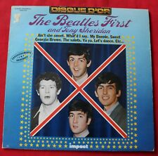 The Beatles, the Beatles first and Tony Sheridan, LP - 33 tours